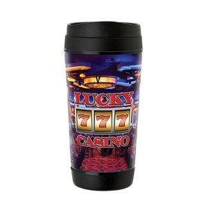 Perka Hibiscus II 17 oz. Insulated Mug