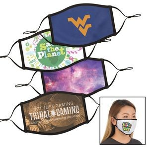 Full Color Dye Sublimation Face Mask - Small / Med