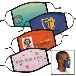 Full Color Dye Sublimation Face Mask - Large / XL