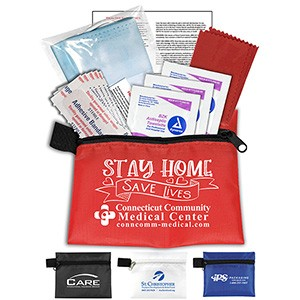 11 Antiseptic and Protective Health Living Pack in Zipper Pouch