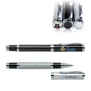 Saturn-I Rollerball Pen w/Removable Brass Cap