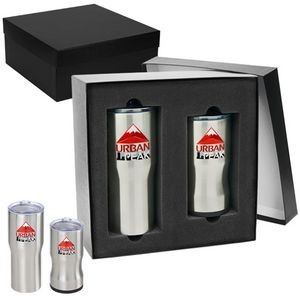 Urban Peak® Gift Set (20oz/3-in-1 Insulator)