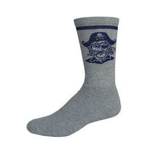 Full Cushion Crew Sock w/Knit-In Logo