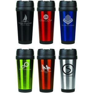 Stainless Steel Engraved Travel Mug without Handle