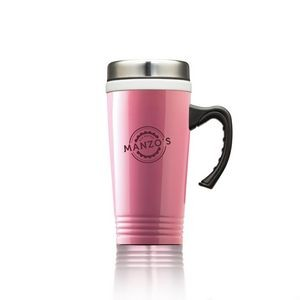 The Delicious S/S Ceramic Mug - 13oz Pink