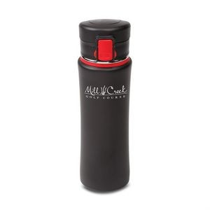 The Trek S/S Vacuum Tumbler - 16oz Red