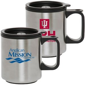 MADISON 12 oz. Stainless Steel & Plastic Travel Mug