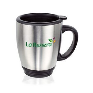 16 Oz. Camilla Stainless Steel Bistro Mugs