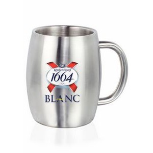 14 Oz. Agnes Stainless Steel Double Wall Mugs
