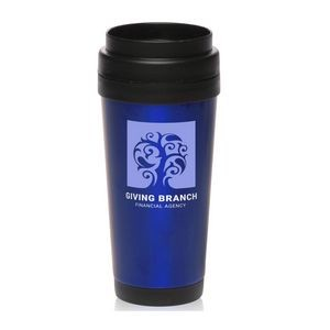 16 Oz. Intrepid Stainless Steel Insulated Travel Mugs