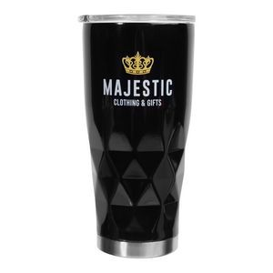20 oz. Diamond Stainless Steel Travel Mugs