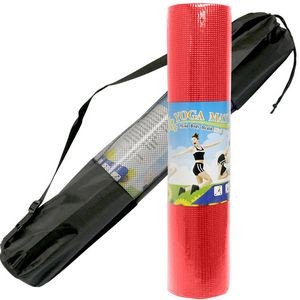 Exercise Yoga Mat 6mm Thick with Carry Case