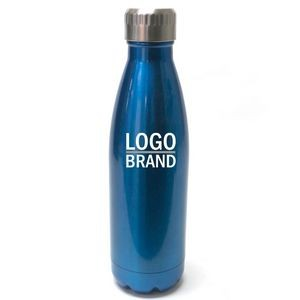 500ml Cola Bottle Shape Stainless Steel Tumbler