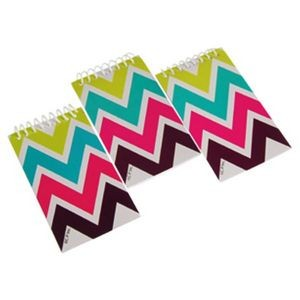 Chevron Patterned Notebooks (Case of 36)